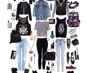 accessories, clothes, and Collage image