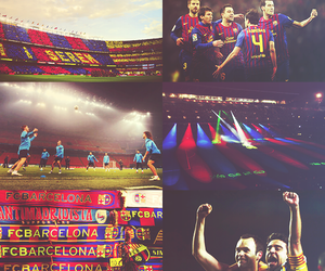 Barca, fabregas, and camp nou image