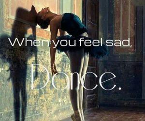 dance, ballet, and sad image