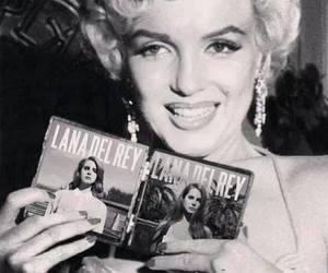 lana del rey, Marilyn Monroe, and born to die image