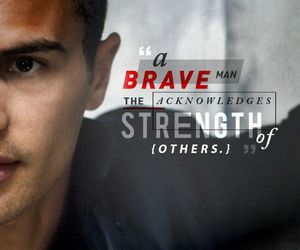 four, quote, and divergent image