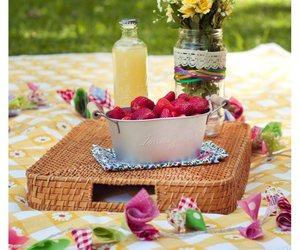 flowers, food, and juice image