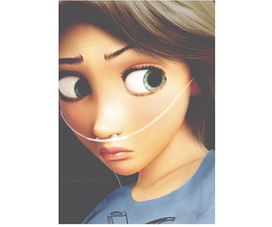 hazel, rapunzel, and fault in our stars image