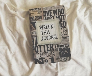 wreck this journal and harry potter image