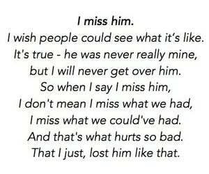 :(, break up, and him image
