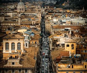city, rome, and italy image