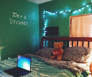 hipster, lights, and modern image