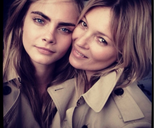 kate moss, model, and cara delevingne image