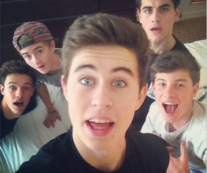 magcon, nash grier, and cameron dallas image