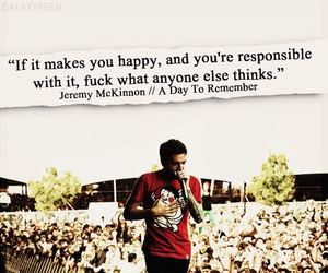 quote, a day to remember, and jeremy mckinnon image