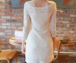 dress, lace, and mesh image