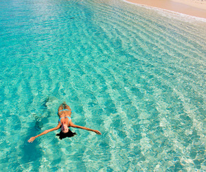 blue, water, and paradise image