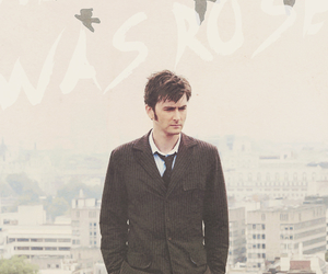 david tennant, rose tyler, and tenth doctor image