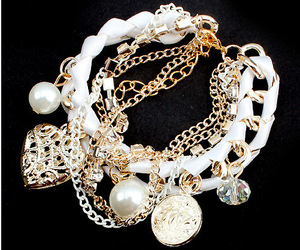accesories, jewelry, and bracelet image