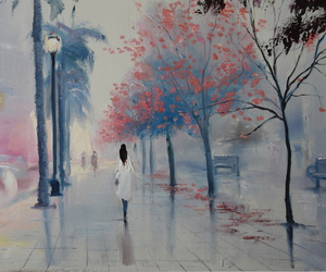 painting, beautiful, and street image