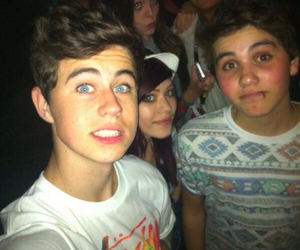 aaron carpenter, cameron dallas, and matthew espinosa image
