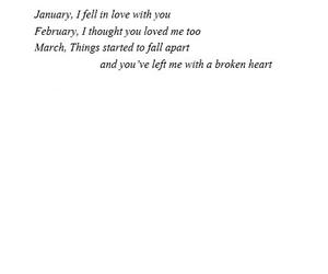 break up, broken, and hurt image