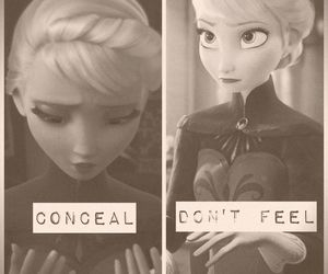 disney, frozen, and ice image