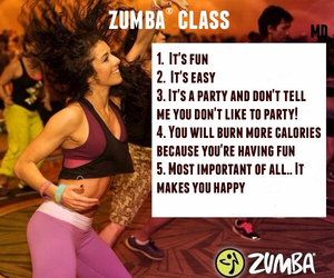 calories, class, and dance image