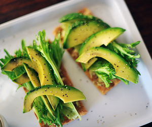 avocado, breakfast, and eat image