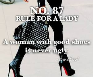 rules for a lady image