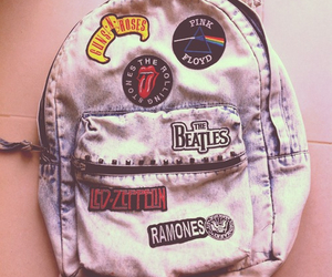 Pink Floyd, backpack, and bands image