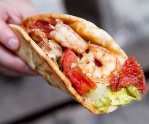 food, yummy, and tomato image