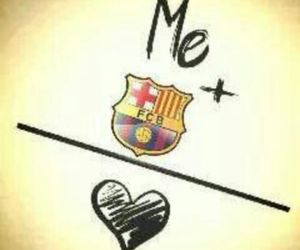 Barca, ♥, and love image