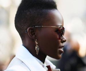fashion, sunglasses, and lupita nyong'o image