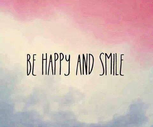 happy, smile, and quote image
