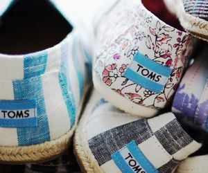 shoes, toms, and summer image