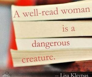 book, quotes, and woman image