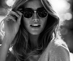 sunglasses, summer, and hair image