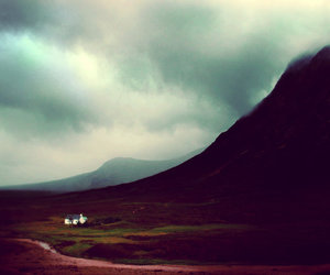 clouds, highlands, and scotland image