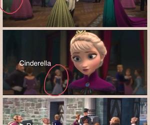 frozen, disney, and cinderella image