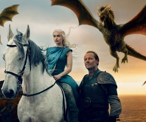 Annie Leibovitz, daenerys, and mother of dragons image