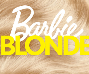 barbie, blonde, and hair image