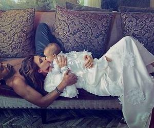 family, kim kardashian, and baby image