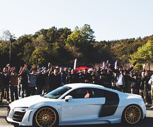 audi, sport, and white image
