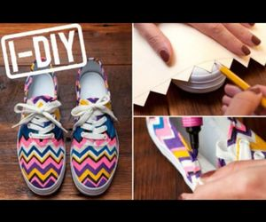 colourful, cool, and diy image