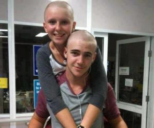 love, couple, and cancer image
