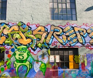 colors, graffiti, and wow image