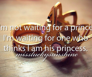love quotes, princess, and prince image