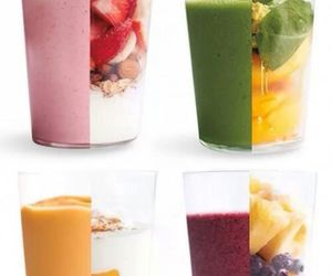 drinks, FRUiTS, and smoothie image