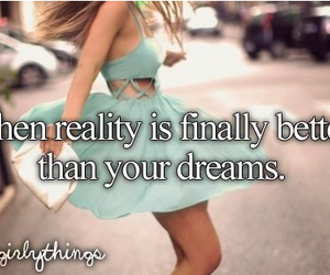 Dream, reality, and dress image