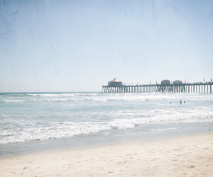 beach, spring, and so cal image