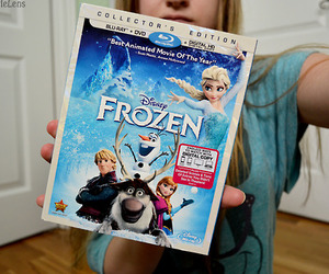frozen, disney, and movie image