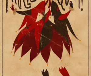 harley quinn, art, and batman image
