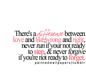 difference, forget, and like image