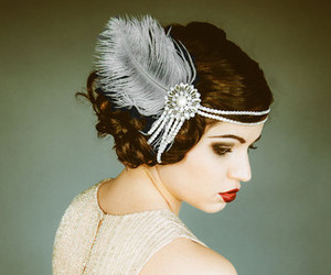 beauty, gatsby, and hair image